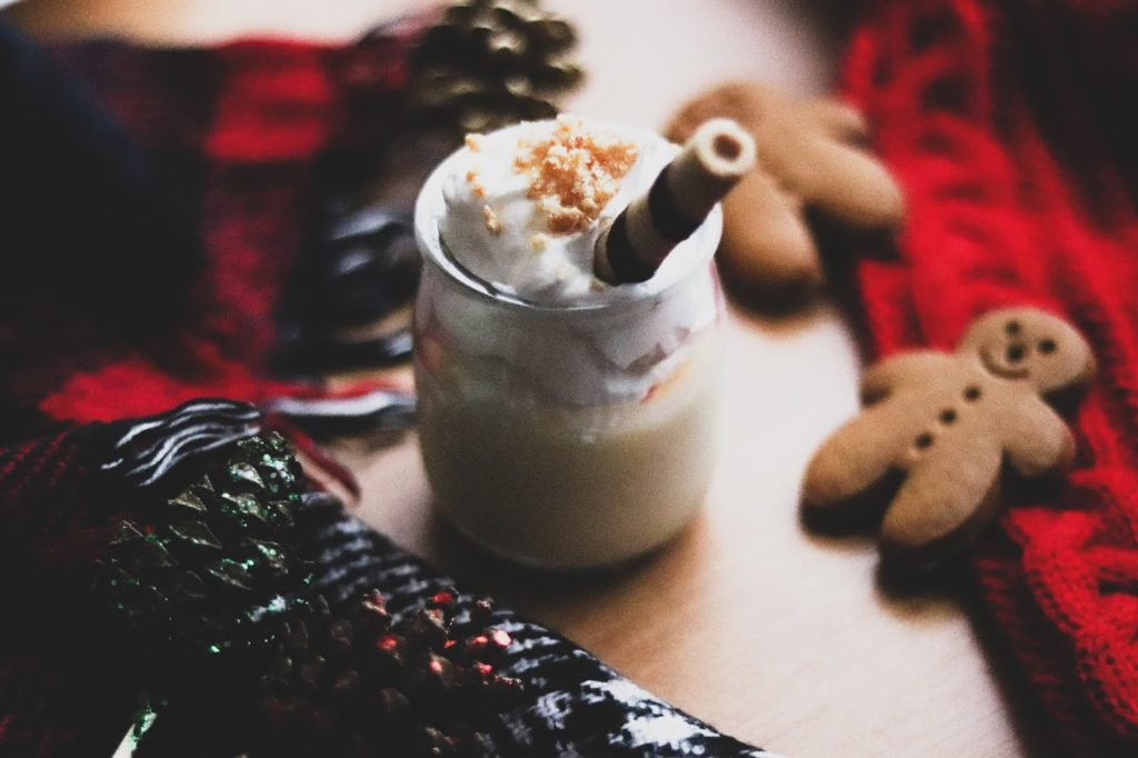 Christmas Panna Cotta Recipe (Vegan Friendly)